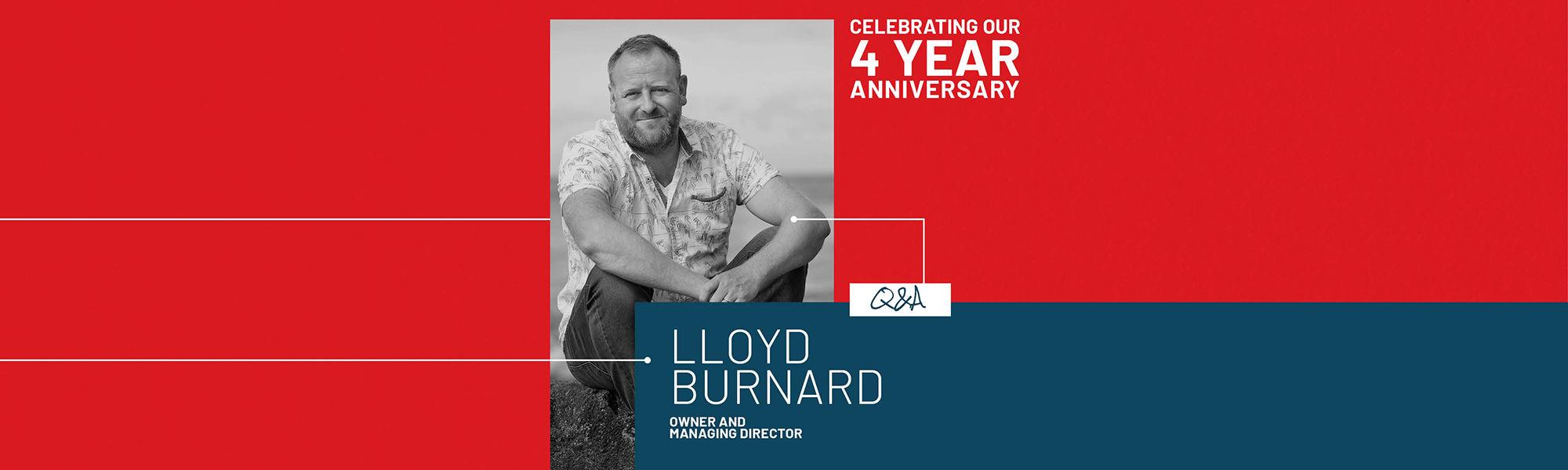 Lloyd Burnard Q&A